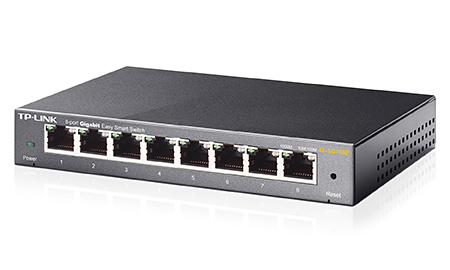 Switch Easy Smart de 8 puertos Gigabit TL-SG108E