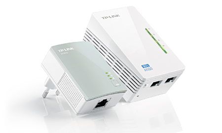 Kit Extensor Powerline WiFi AV500 a 300 Mbps TL-WPA4220KIT