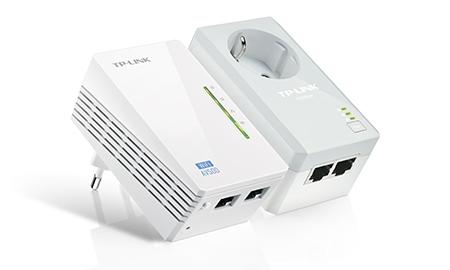 Kit Extensor Powerline WiFi AV500 TL-WPA4226KIT