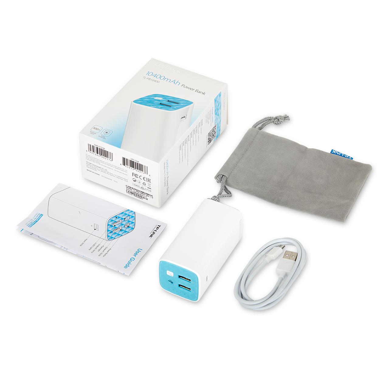 El accesorio ideal para las Navidades: Batería portátil de 10400mAhTL-PB10400