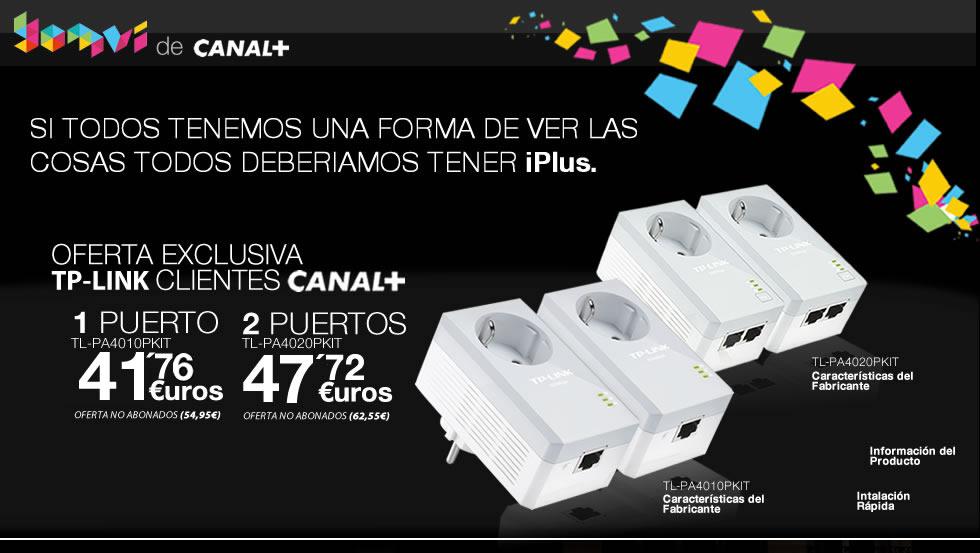 TP-LINK, PROVEEDOR TECNOLÓGICO DE CANAL+