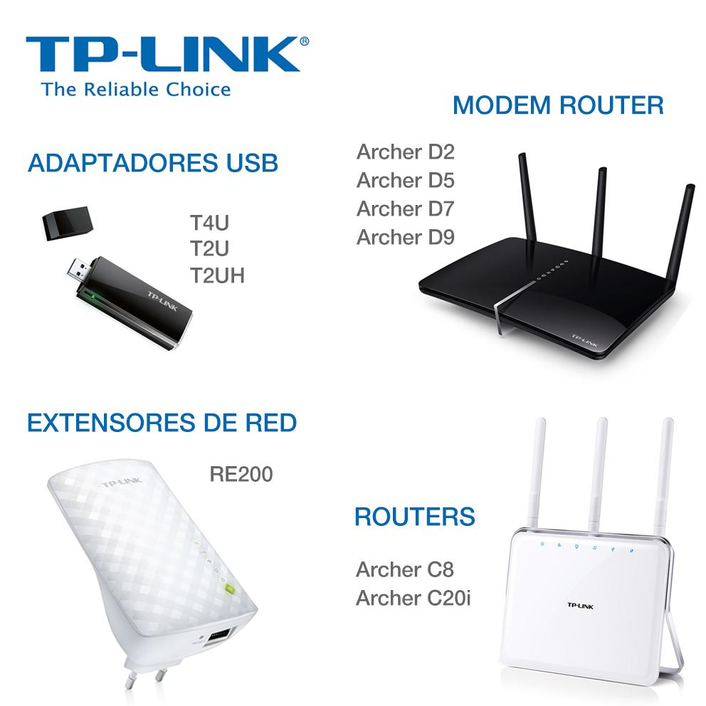 TP-LINK apuesta por la tecnología Wi-Fi 802.11 AC en toda su oferta