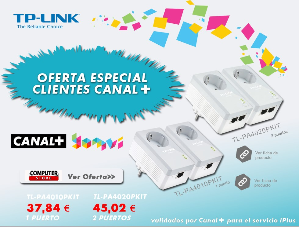 TP-LINK ofrece a los abonados de Canal+ conectividad sencilla, fiable y económica a Internet
