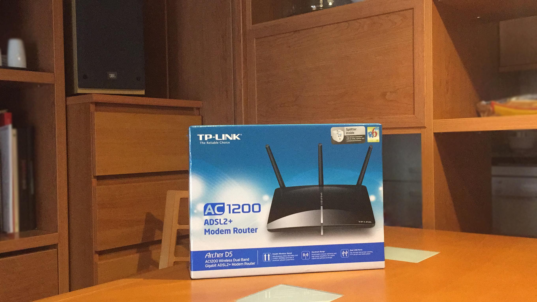 Excelente Modem Router Wi-Fi  Archer D5