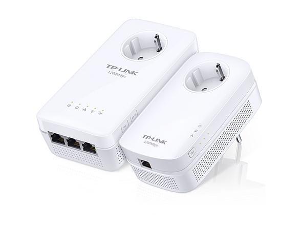 TL-WPA8630P KIT: KIT Powerline Wi-Fi AC Gigabit AV1200 con enchufe incorporado