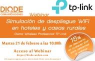21 de Febrero : Simulación de despliegue Wi-Fi en hoteles y casas rurales, con la colaboración de DIODE