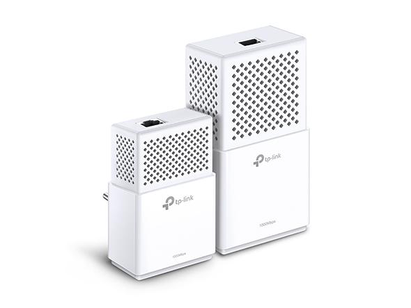 Adaptadores Powerline Gigabit AV1000 Wi-Fi AC TL-WPA7510 KIT