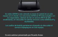 Webinar Router GPON – Alto Rendimiento para despliegues de fibra: Disponible ya en nuestro canal de Youtube