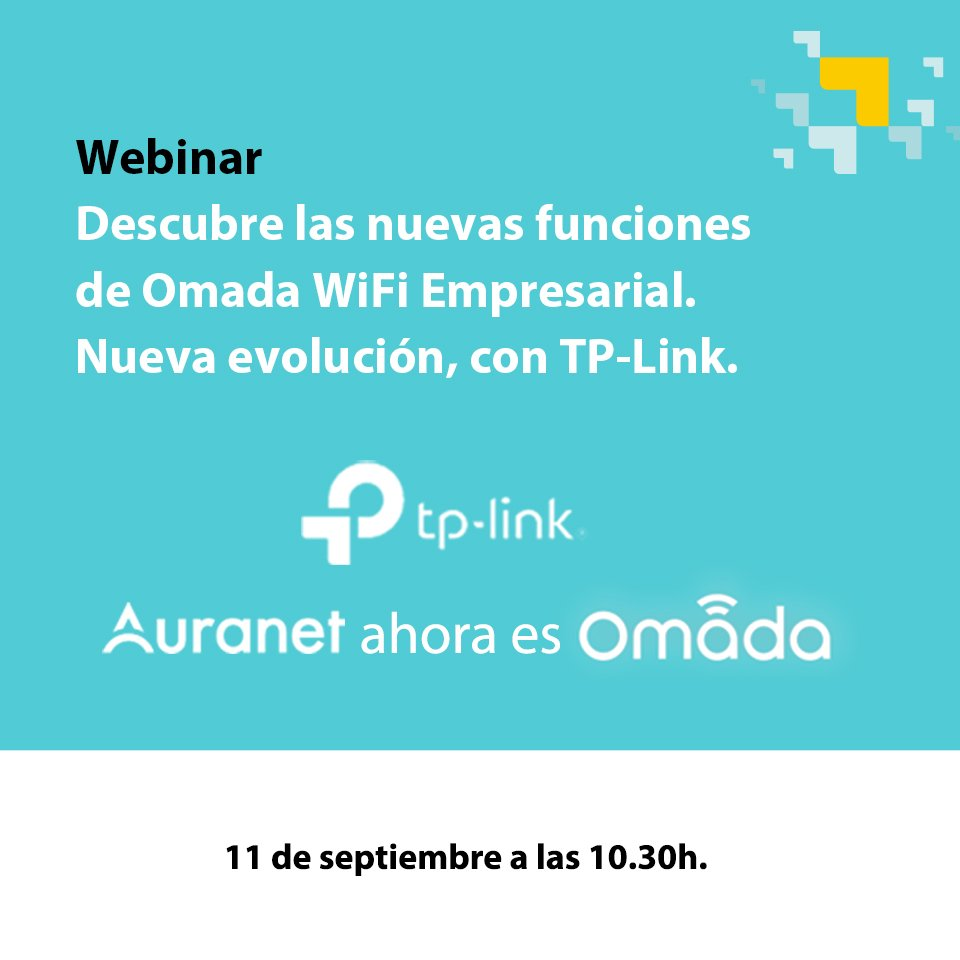 Webinar de Omada ya disponible en nuestro Canal de Youtube