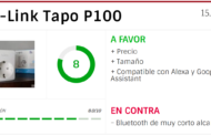 Review: TP-Link Tapo P100, probamos este interruptor con Alexa y Google Assistant