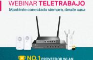 Webinar Teletrabajo: mantente conectado siempre desde casa