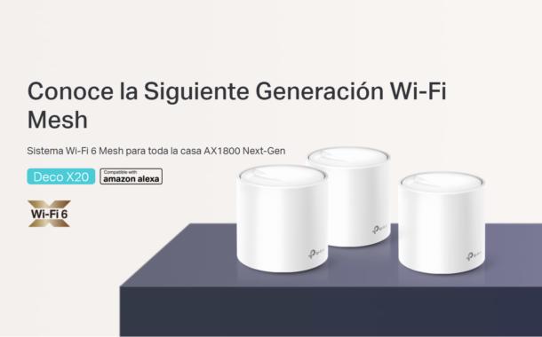 Deco X20: Conoce la siguiente generación Wi-Fi Mesh