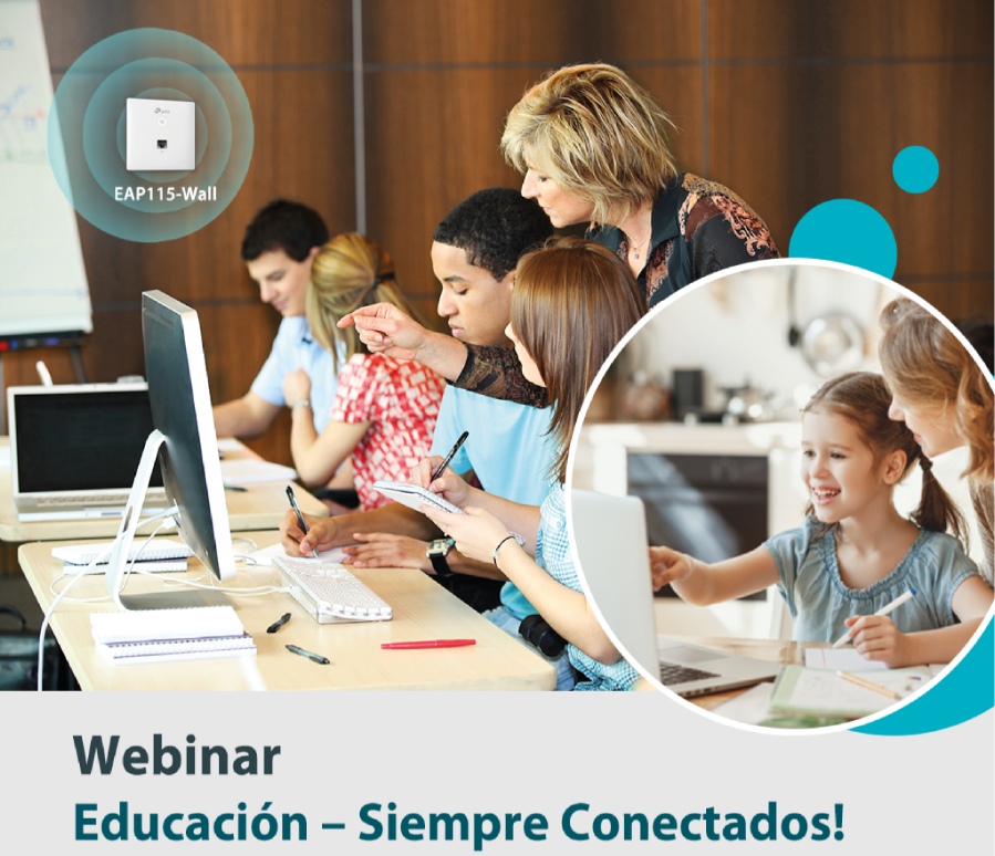 WEBINAR: Educación. ¡Siempre conectados!