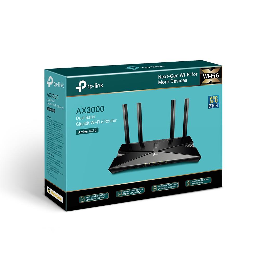 TP-Link lanza Archer AX50, el router Wi-Fi 6 con velocidades de hasta 3 Gbps y latencia ultrabaja