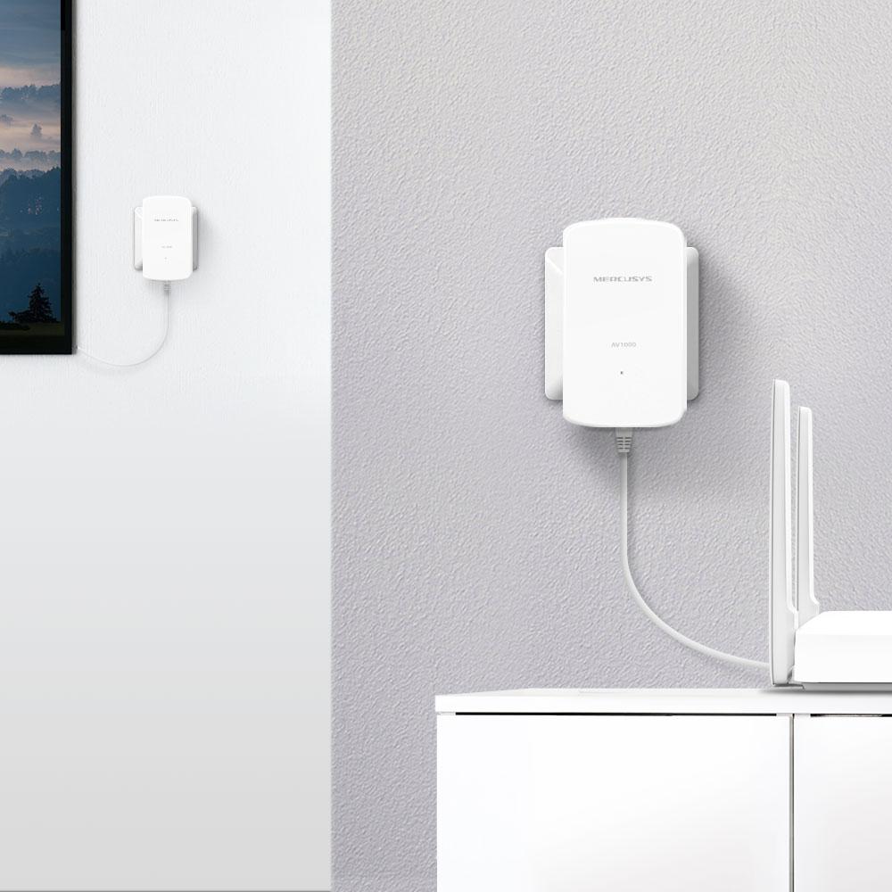 Mercusys® presenta el nuevo kit Powerline MP500 para disfrutar de una red Wi-Fi extendida en cualquier rincón del hogar
