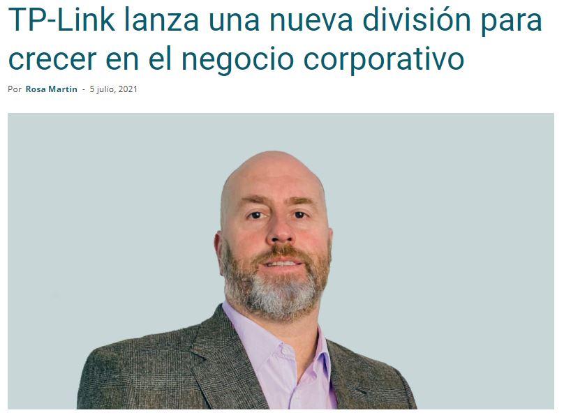 Newsbook: TP-Link lanza una nueva división para crecer en el negocio corporativo
