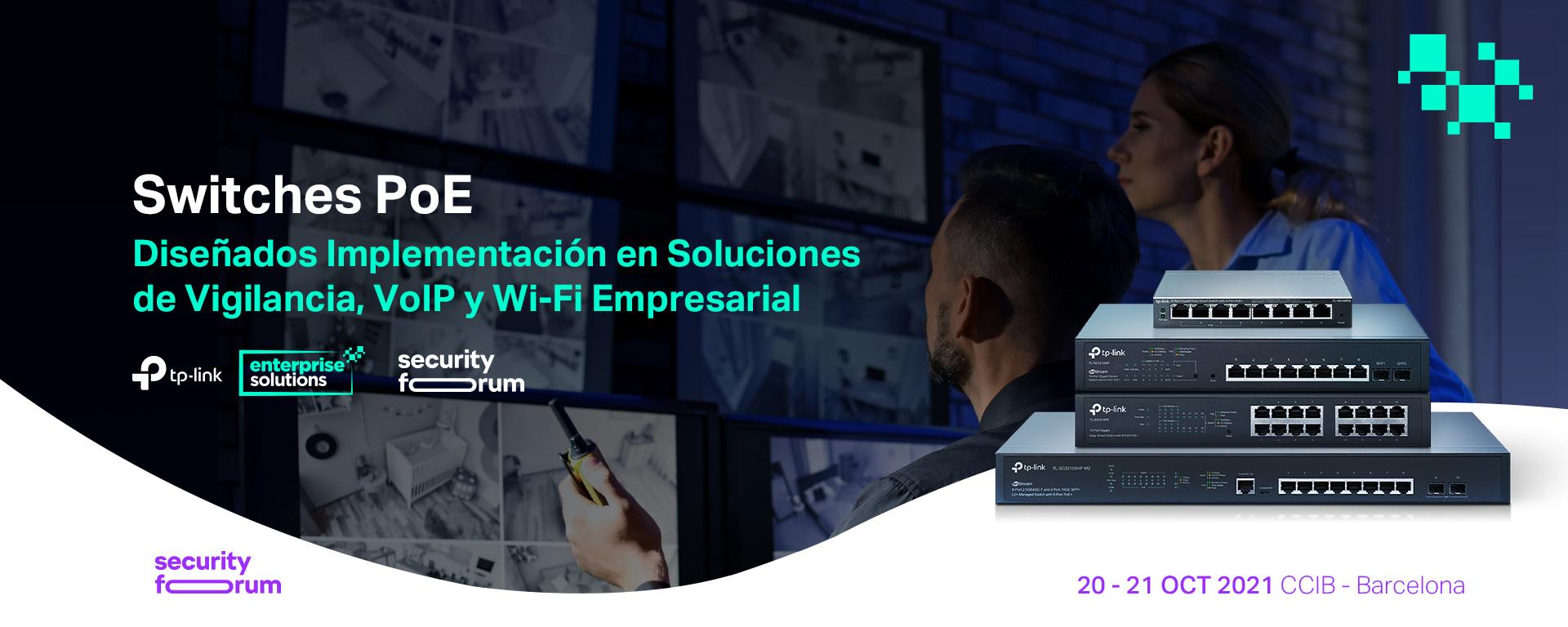 TP-Link presentará en Security Forum 21 de Barcelona sus soluciones diseñadas para la seguridad Wi-Fi en redes empresariales